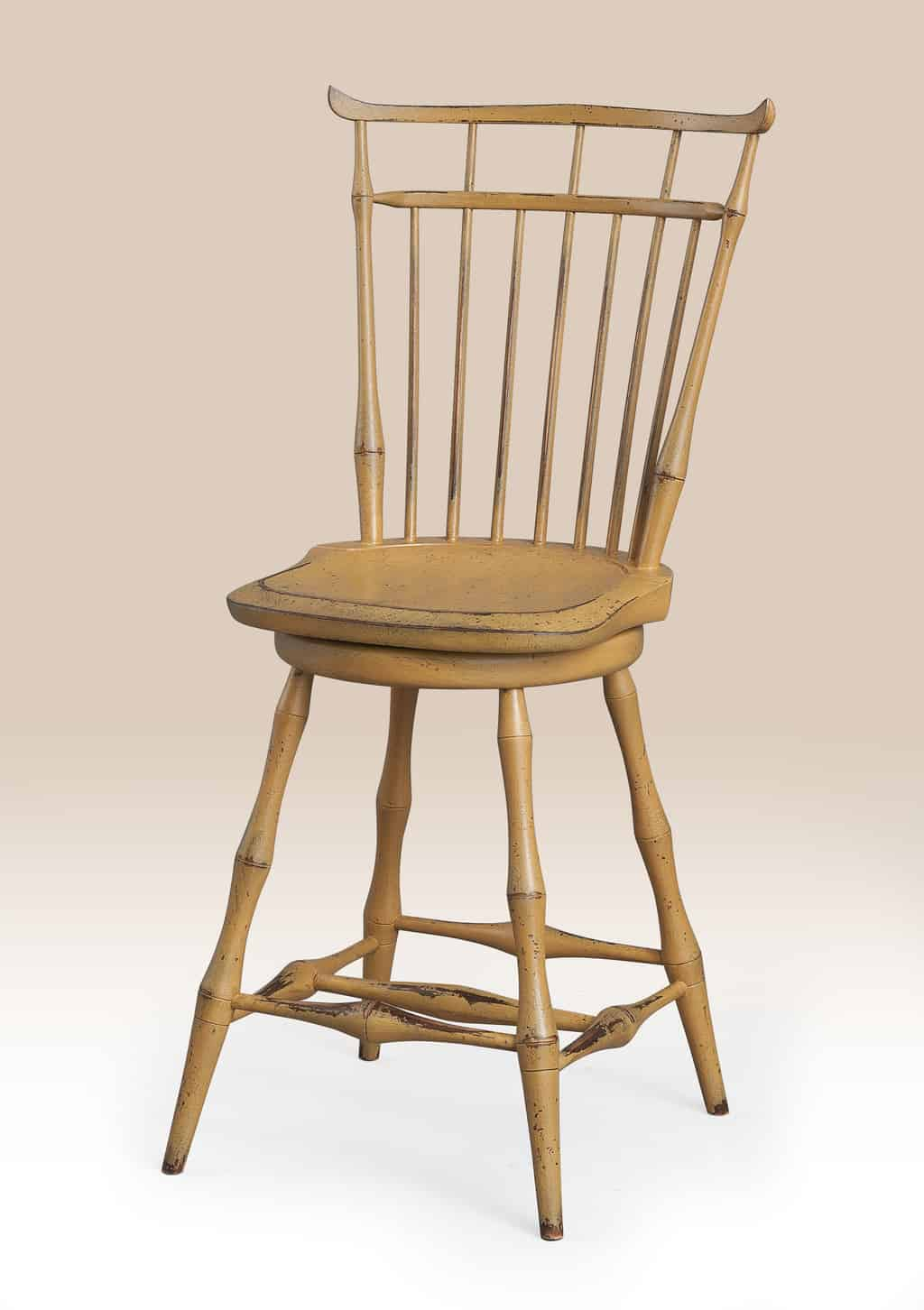 Historical Swivel Birdcage Windsor Stool Image