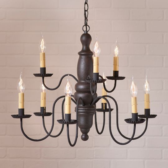 Fairfield Chandelier in Americana Black Image
