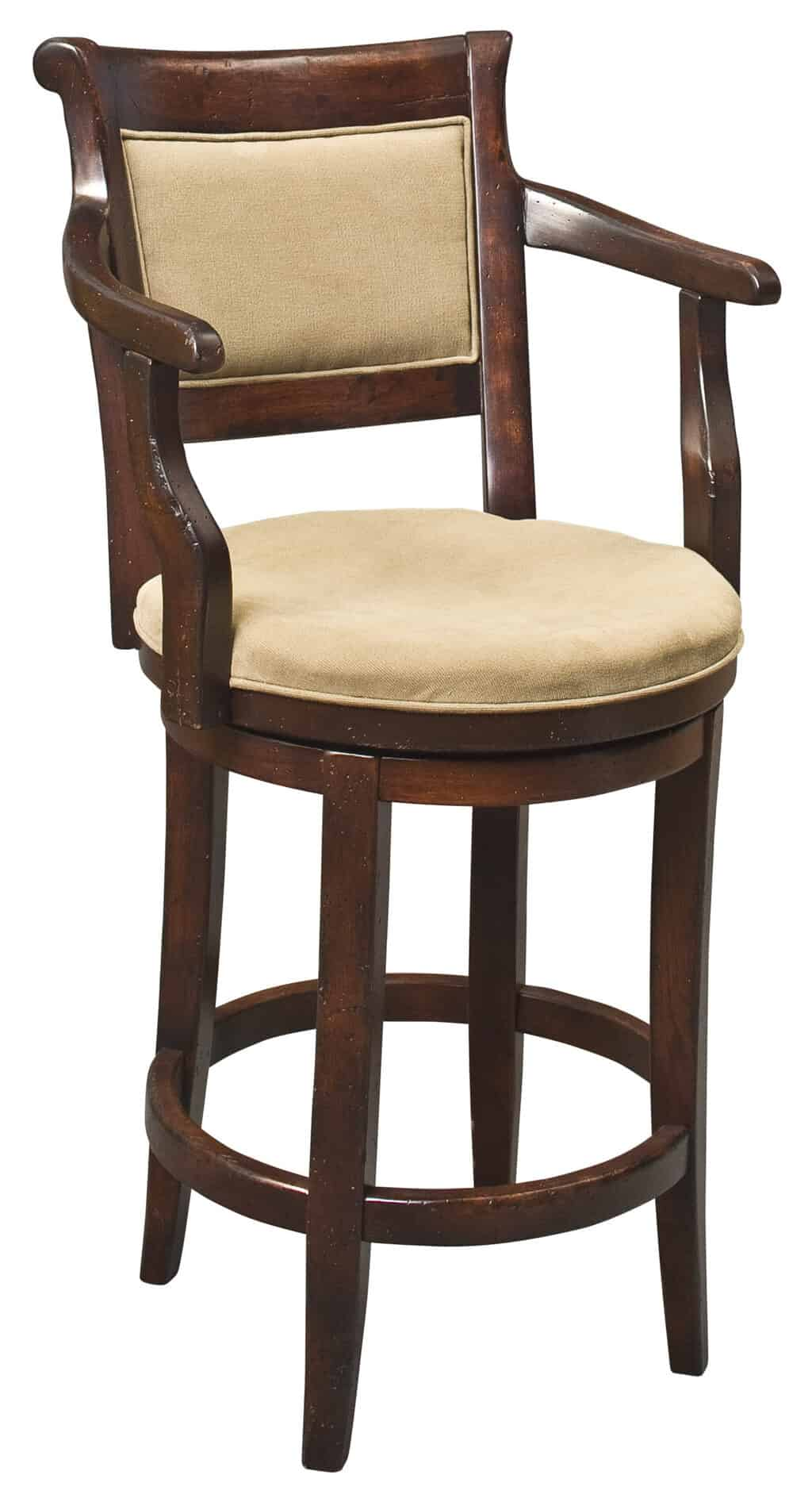 Swivel West Chester Arm Stool Image