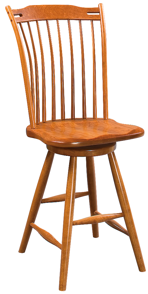 Saybrook Thumb Back Stool Image
