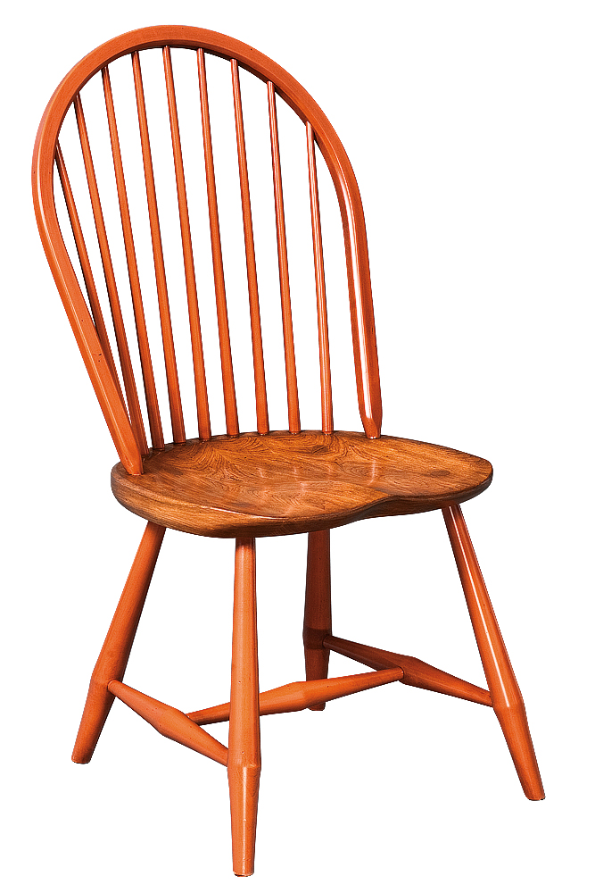 Designer Bow Back Side Windsor Chair Image