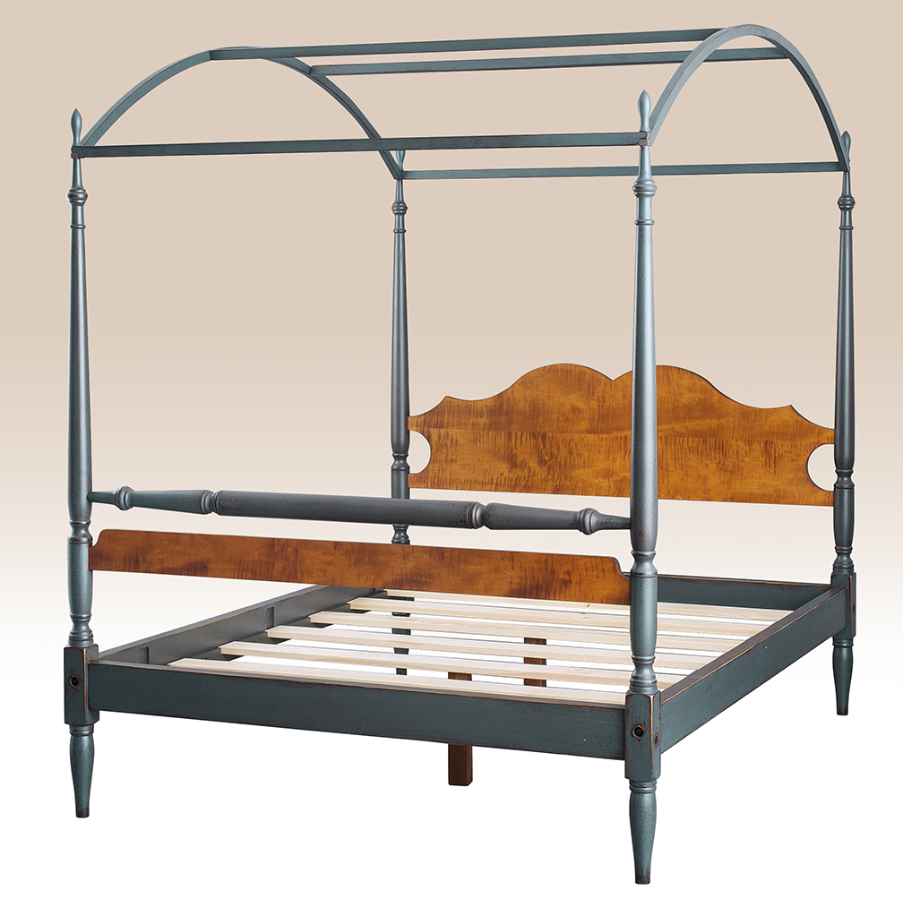 Historical Lexington Arched Canopy Bed Image