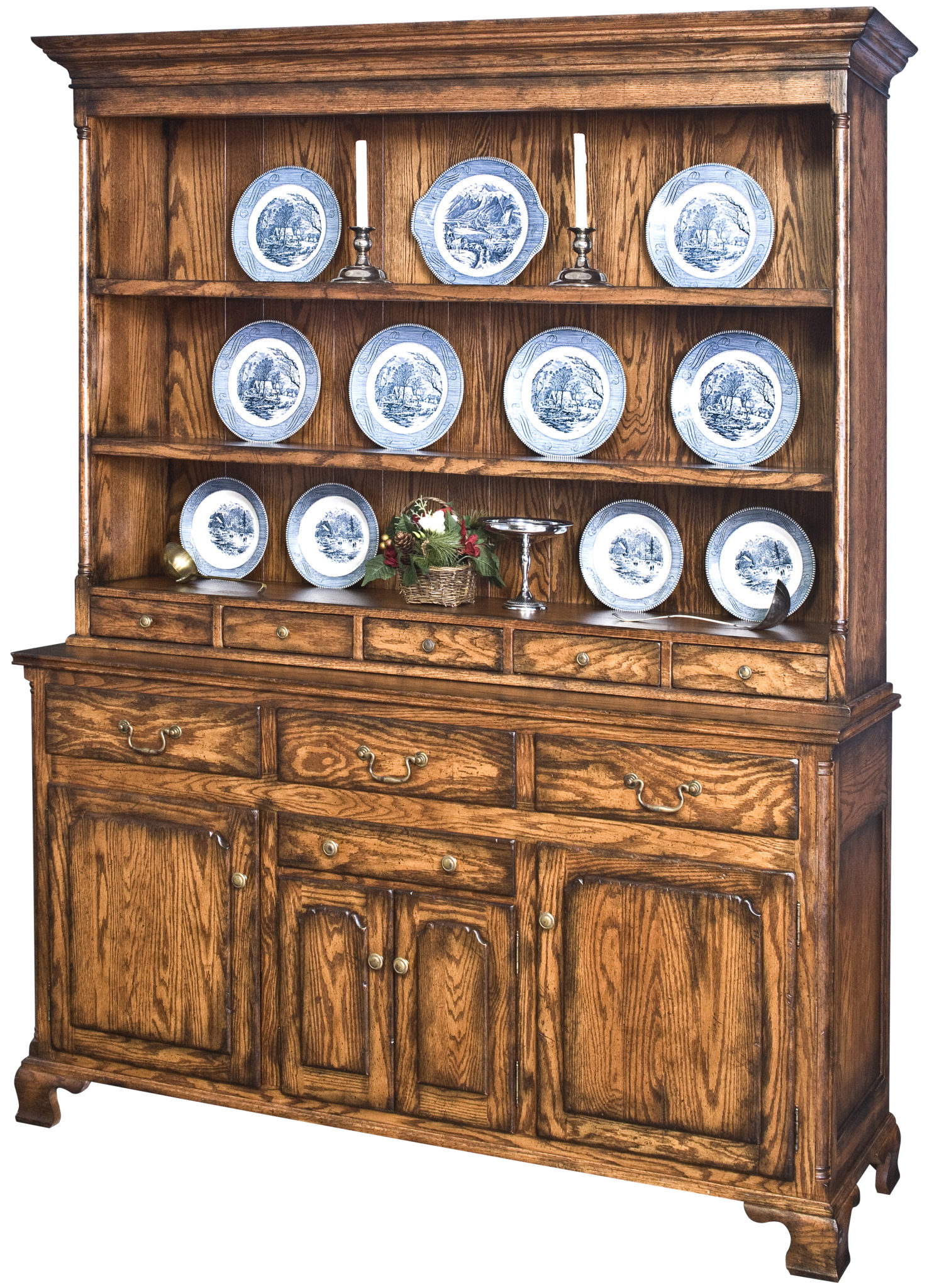 Wallace Open Top Hutch Image