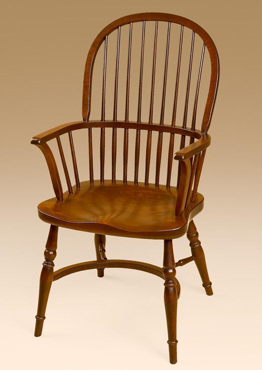 English Sack Back Armchair Image