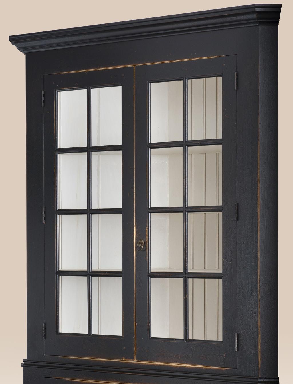 Historical Brickerville Corner Cabinet